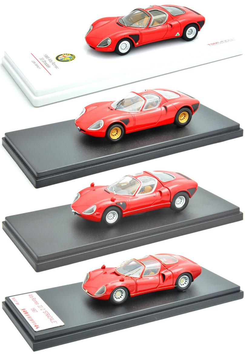 1/43 Alfa Romeo Tipo 33/2 Stradale / アルファ・ロメオ・ティーポ 33/2 ストラダーレ