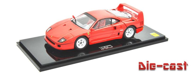 1/43 Ferrari F40 フェラーリF40 ダイカスト製