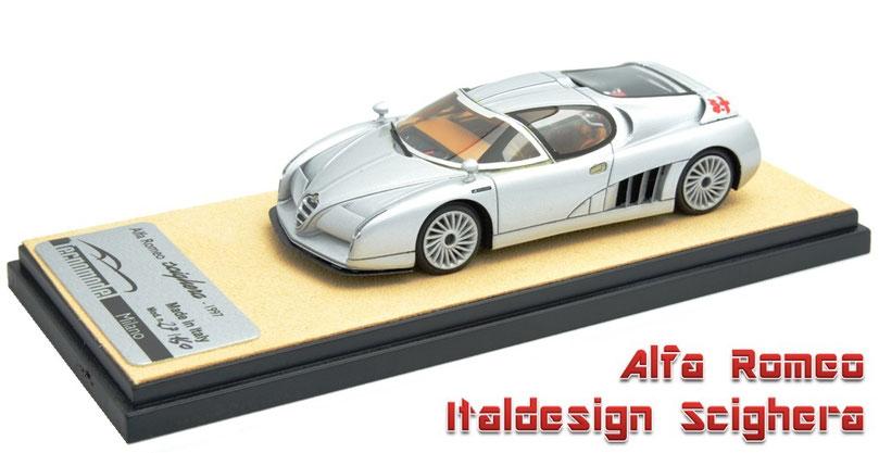 1\43 Alfa Romeo Italdesign Scighera 1997 アルファロメオ・シゲーラ イタルデザイン