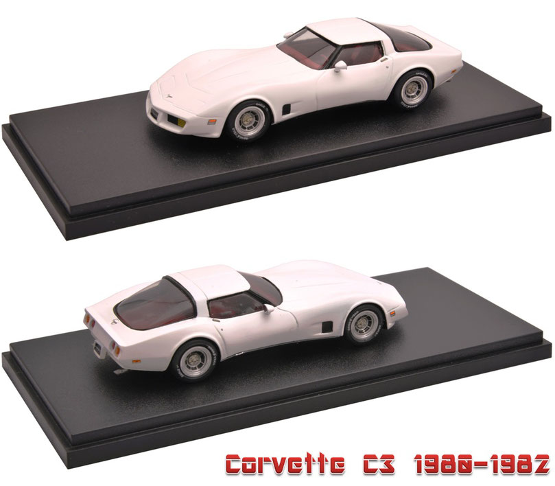 1/43 Corvette C3 1980-1982 シボレー・コルベット C3
