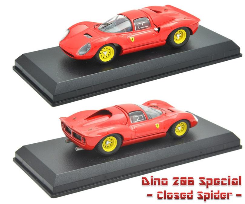 1/43 Dino 206 Special (Closed Spider) ディーノ 206 スペシャル(クローズド・スパイダー)