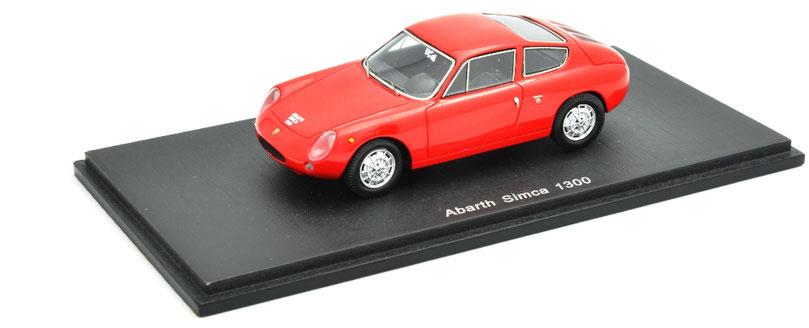 1/43 Abarth Simca 1300 / アバルト・シムカ 1300 1962年