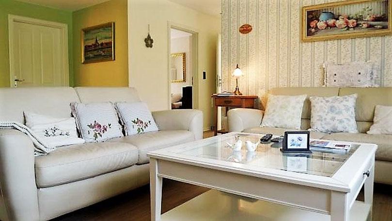 Das Wohnzimmer der Fewo Villa Verde Herzlake