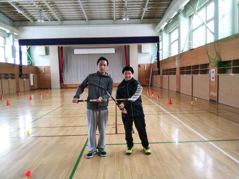 20180128旭川フロアボール体験会