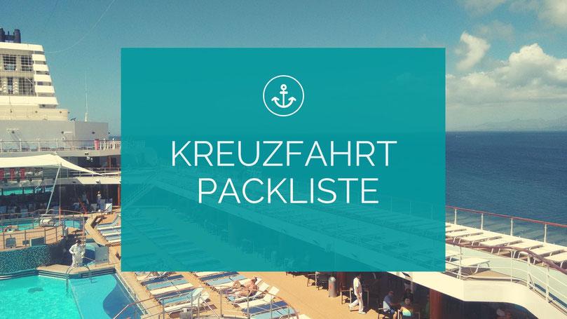Kreuzfahrt-Packliste