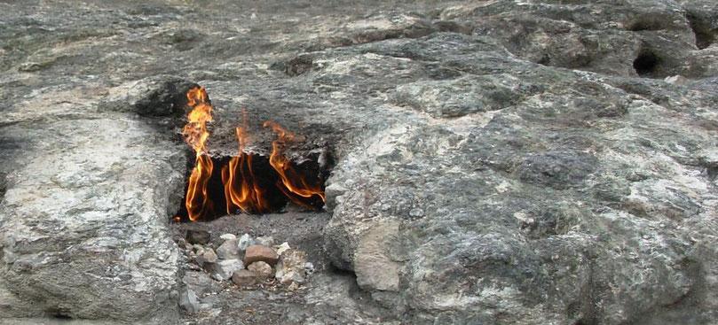 Erdfeuer- Brennen als Schmerzwahrnehmung
