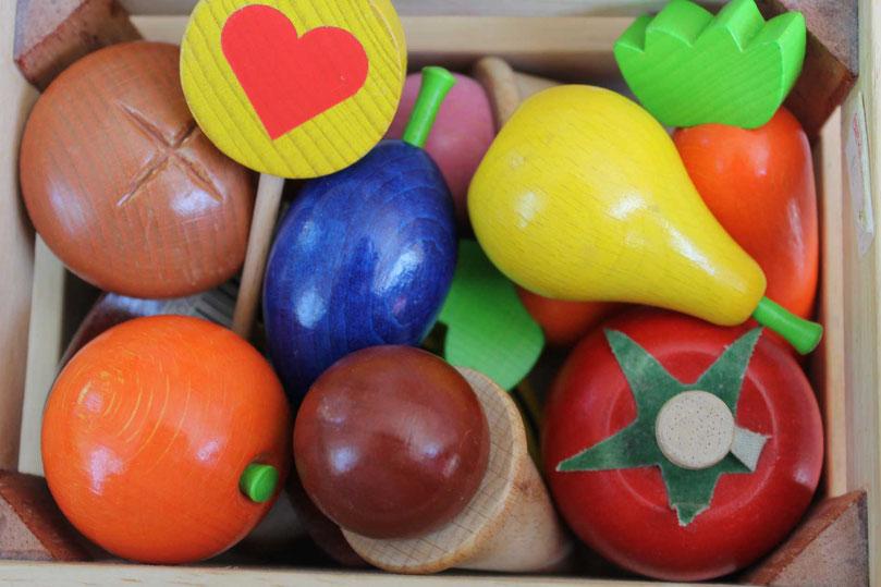 Hochwertiges Holzspielzeug für Kinder