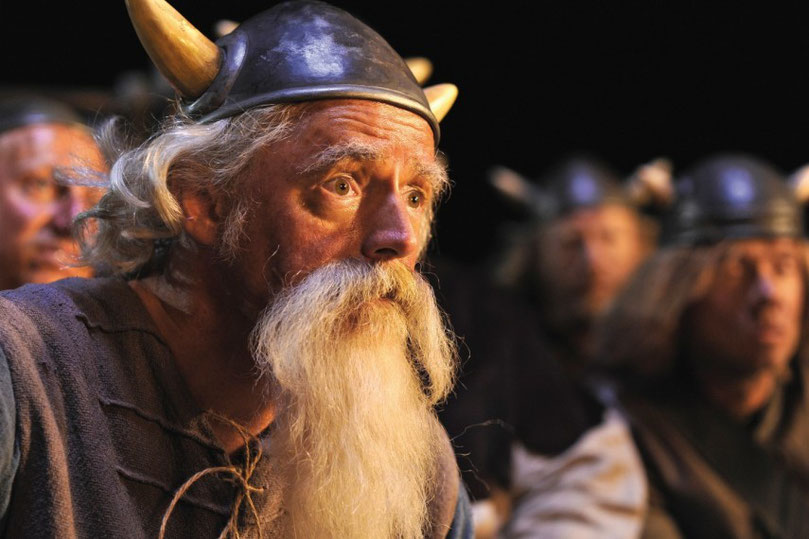 Olaf A. Krätke als Urobe in den Wickie-Filmen