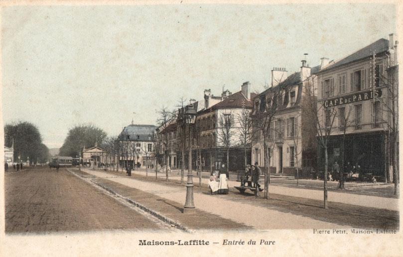 Maisons-Laffitte, avenue de Longueil