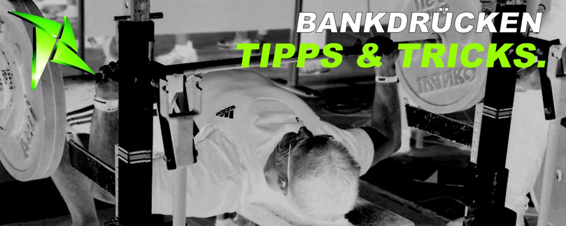 20 Tipps Bankdrücken Technik Benchpress