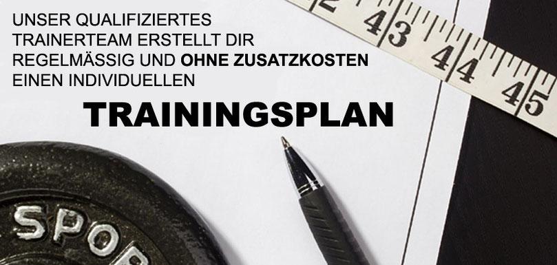 Betreuung durch Trainingsplanung im GYM Fürth
