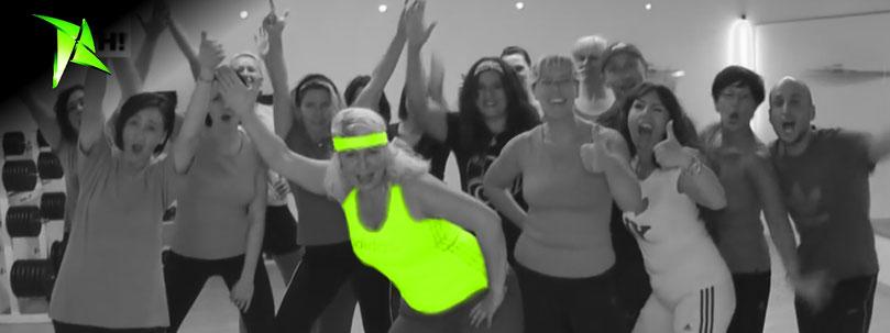 Aerobic zumba kurse in fürth gym fitnessstudio