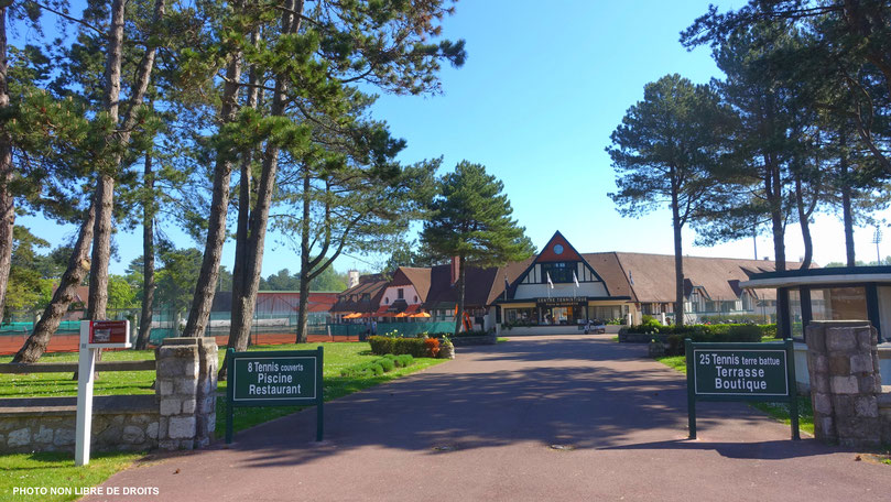 Sport au Touquet, photo non libre de droits