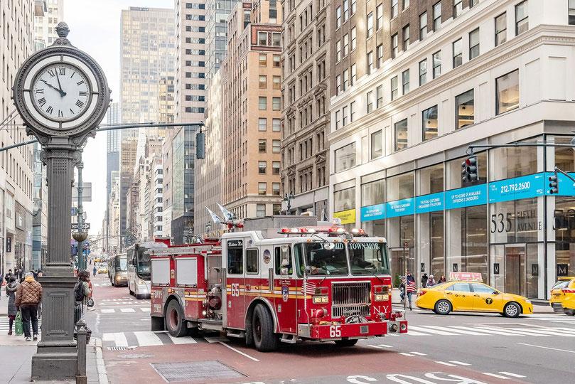 Pompiers new yorkais, photo non libre de droits