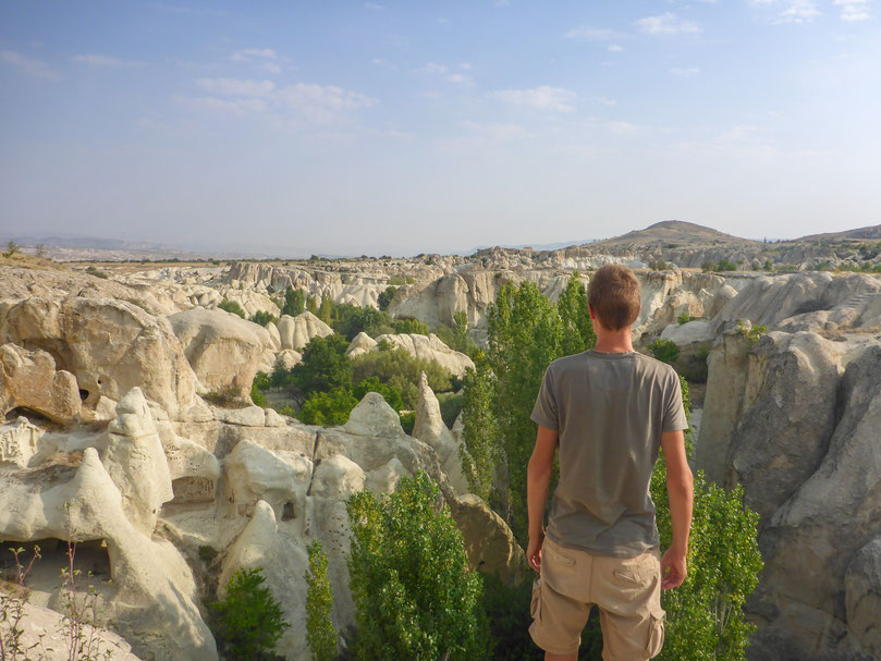 Cappadocia region in Turkey is perfect for outdoor explorers. Beautiful valleys await you.
