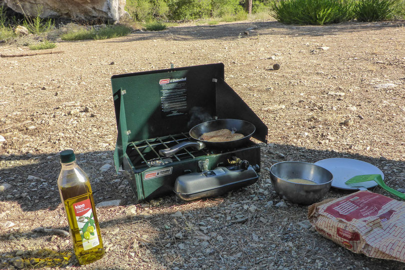 Coleman two-burner stove unleaded petrol review