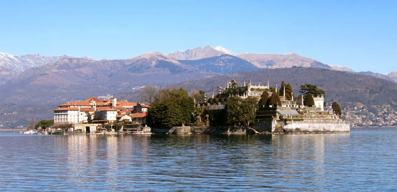 Isola Bella , Lago Maggiore Italien Reise