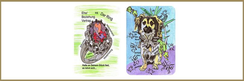 Ring und Hundkarte Lenormand