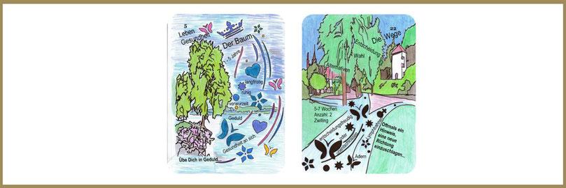 Baum und Wegekarte Lenormand