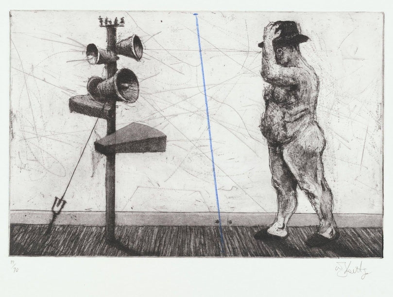 W. Kentridge, senza titolo (1998)