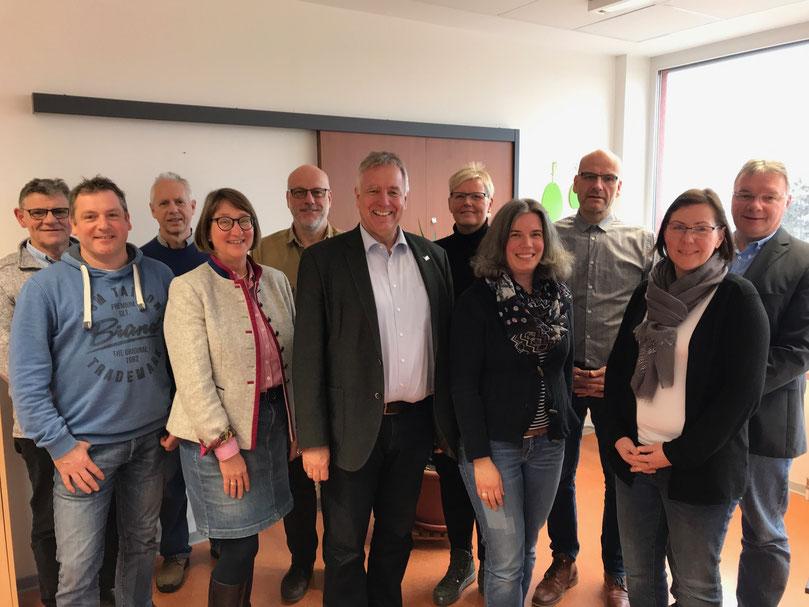 Das Schulleitungs-Team der Wilhelm-Filchner-Schule