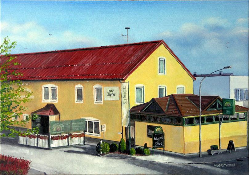 GH Mitterlehner / Südstadtwirt Perg (70x50cm)