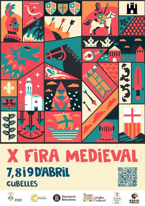 Programa de la Feria Medieval de Cubelles