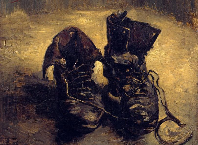 "Vincent Van Gogh, ""Un paio di scarpe"""