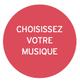 Choisissez la musique diffusée pendant votre massage. Musique du monde, pop, jazz, classique ou les bruits de la nature ?