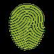 Fingerabdruck der Credo symbolisiert