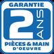 Garantie pieces main d'oeuvre ac fluide