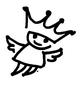 Fliegender König von Jopie Bopp