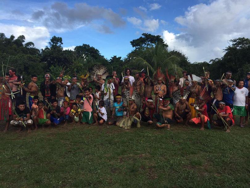 HUNI KUIN community Altamira, Nixu Pima with the Kaxinawa, Acre, Brazil