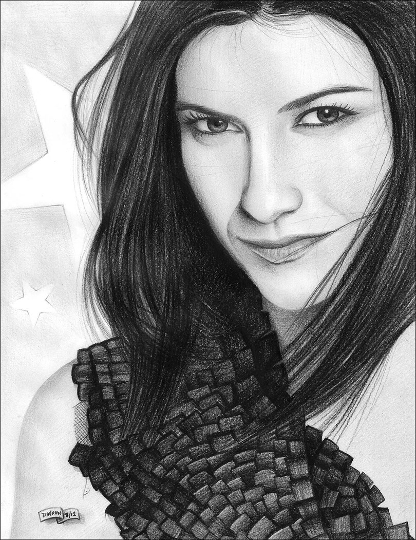Laura Pausini by ART GOD & LOVE INC ® - Dayron Villaverde Hernández | 33-9006