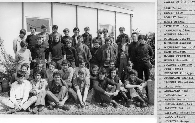 Menuiserie 1971