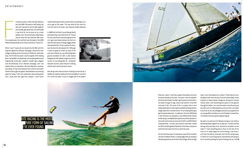 Sailing Journal #54 Johnny Heinecken Text