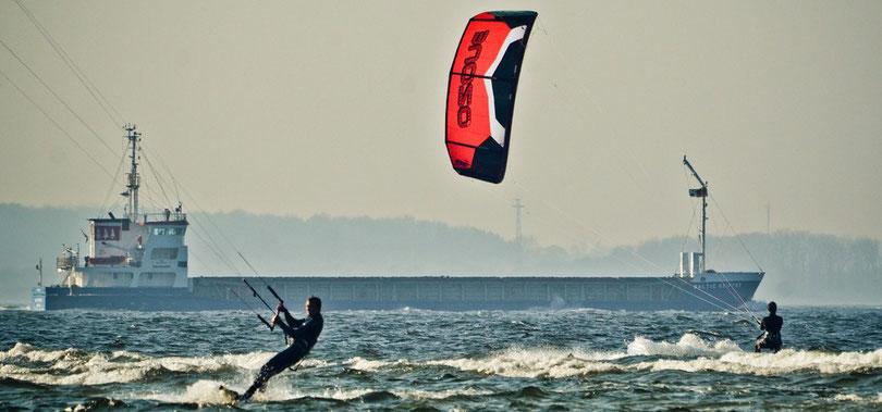 Ozone Kites in Kiel