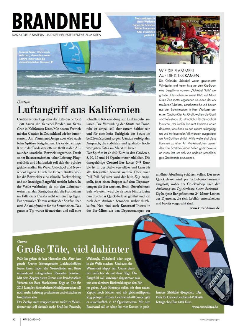 Ozone Zephyr 2013 in Kn.de
