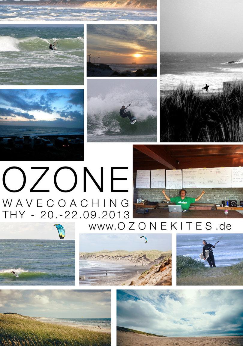 Ozone Wavecoaching mit Marc Ramseier