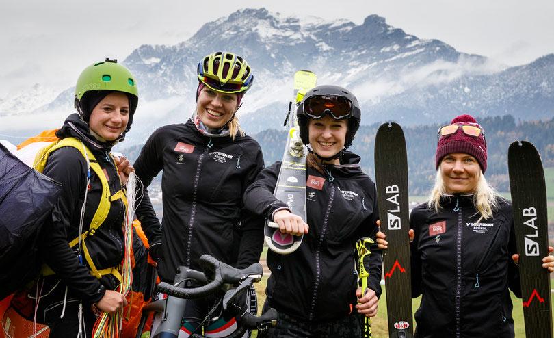 Regionalsport Mädls Team Ladies Anna Petra Huter Kristin Berglund Salomon Eli Elisabeth Egger Flugschule Aufwind Steiermark Graz Tirol Österreich Rinn Kramsach