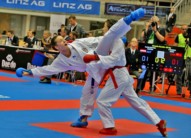 Bettina Betti Plank Karate Vorarlberg Wels Regionalsport Sport in Tirol Österreich Schwanenstadt KC Mäder Karate-do Kumite Kata Sportbilder Sportfotos Sportberichte Sportnachrichten Sportnews