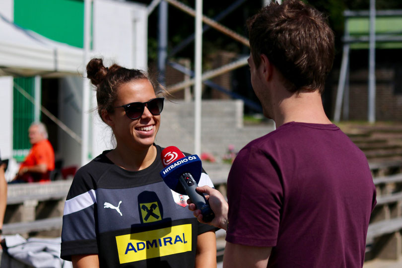 Nicole Billa Angerberg Frauennationalteam Fußball Tirol Österreich TSG 1899 Hoffenheim Regionalsport UEFA Womens Euro 2017 ÖFB Sportbilder Sportfotos Sportberichte Sportnews Sportnachrichten Sport Stürmerin