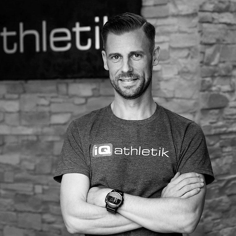 Sebastian Mühlenhoff, Gründer von iQ athletik und Sportwissenschaftler