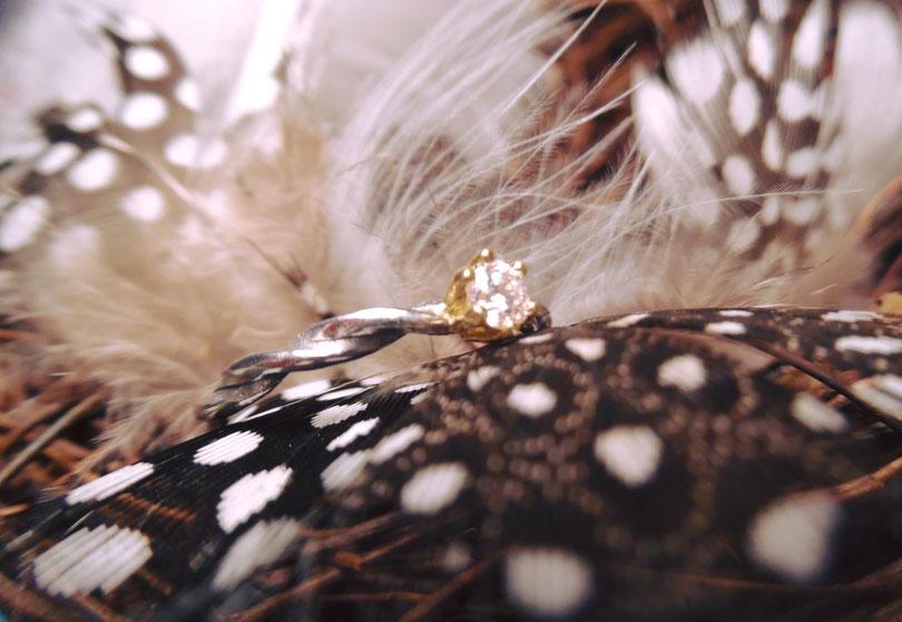 Verlobungsring, Ring von Heinz Leible von Schmuck Concepte Karlsruhe