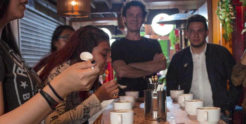 organizamos tu evento, barra de café especial, métodos de café en eventos. charlas de café