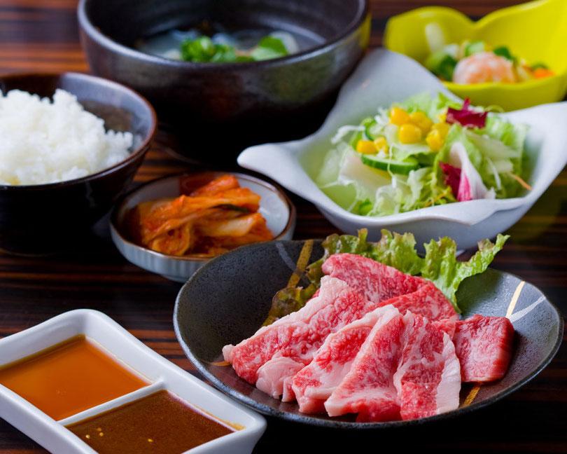 神戸牛サービスランチ
