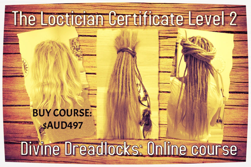 The Natural Loctician Certificate Level 2 Extensions Wraps