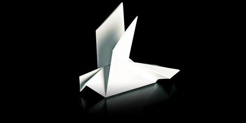 origami uccello