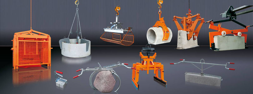 Clamps for handling concrete products