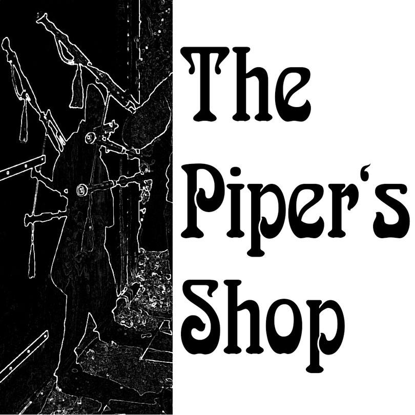 Logo vom The Piper's Shop .com Fachgeschäft für den Dudelsackspieler